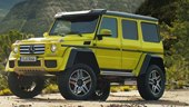 Mercedes-Benz Wants You To Go Exploring With The New G550 4X4²