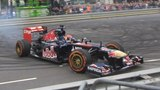 16 Year Old Crashes Formula 1 Car During Demonstration Run