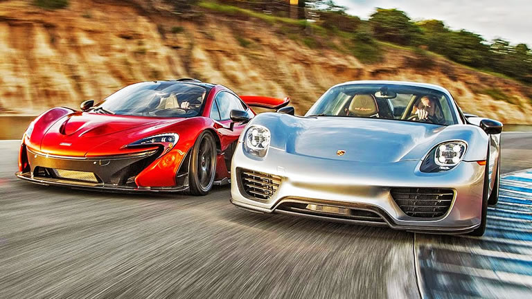 video track comparison mclaren p1 vs porsche 918 spyder. Black Bedroom Furniture Sets. Home Design Ideas