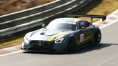 Mercedes-AMG GT3 Race Car Flexes Its Muscles Around Nurburgring