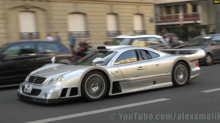 Video Mercedes Benz Clk Gtr Looks Out Of This World