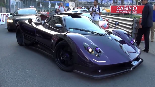 Video Lewis Hamilton S Pagani Zonda 760 Lh Spotted In