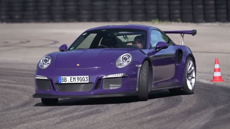 Video Chris Harris Hits The Track With New Porsche 911