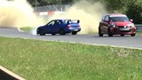 Subaru WRX STI Driver's Miraculous Save on Nurburgring