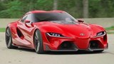 Stunning Toyota FT-1 Sports Car Concept Introduced at NAIAS
