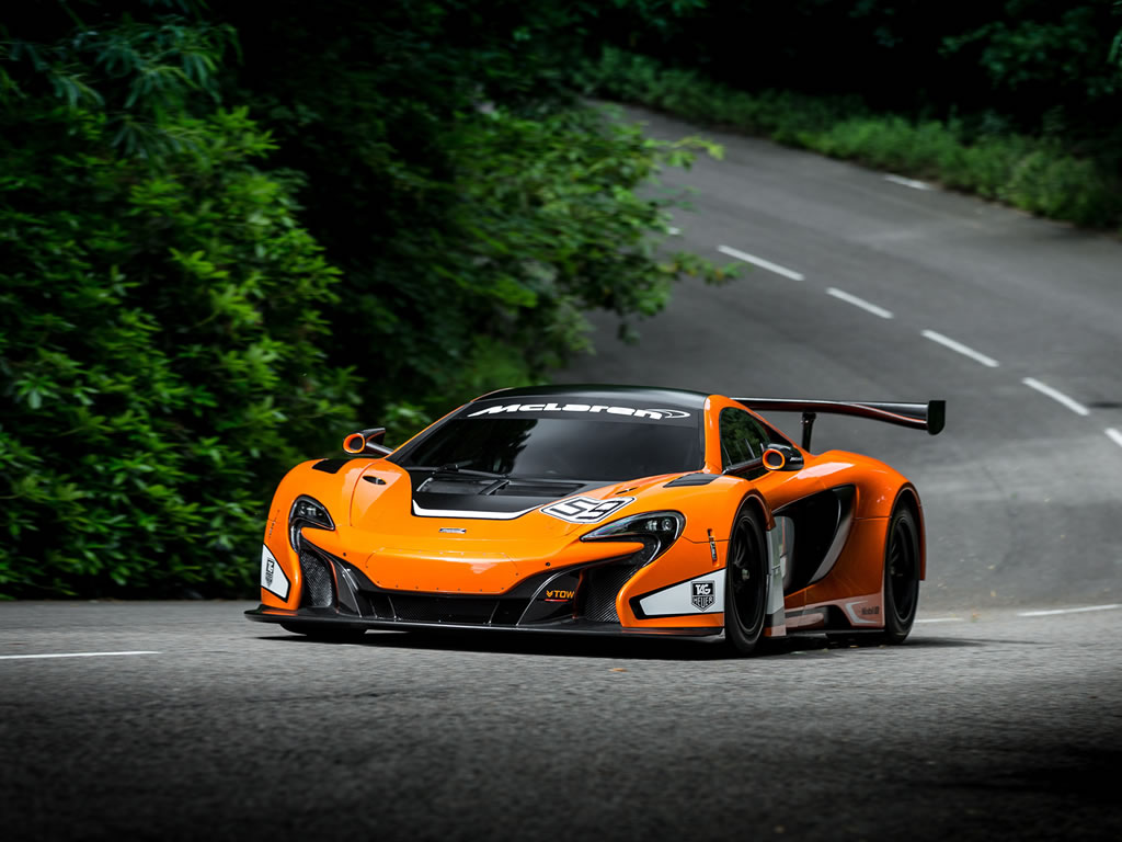 2014 McLaren 650S GT3 Race Car Wallpaper - 1024 x 768
