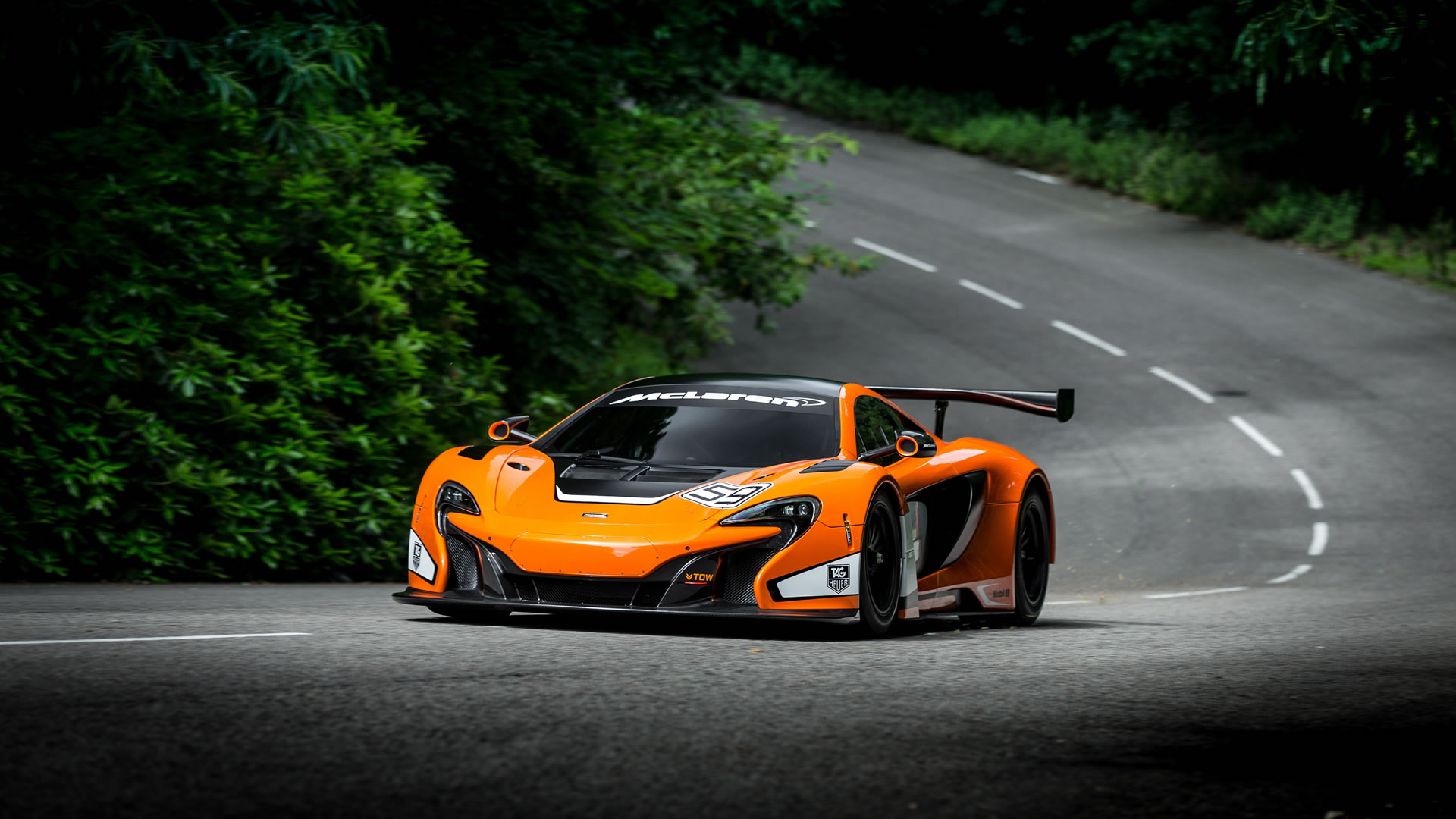 2014 McLaren 650S GT3 Race Car Wallpaper - 1920 x 1080