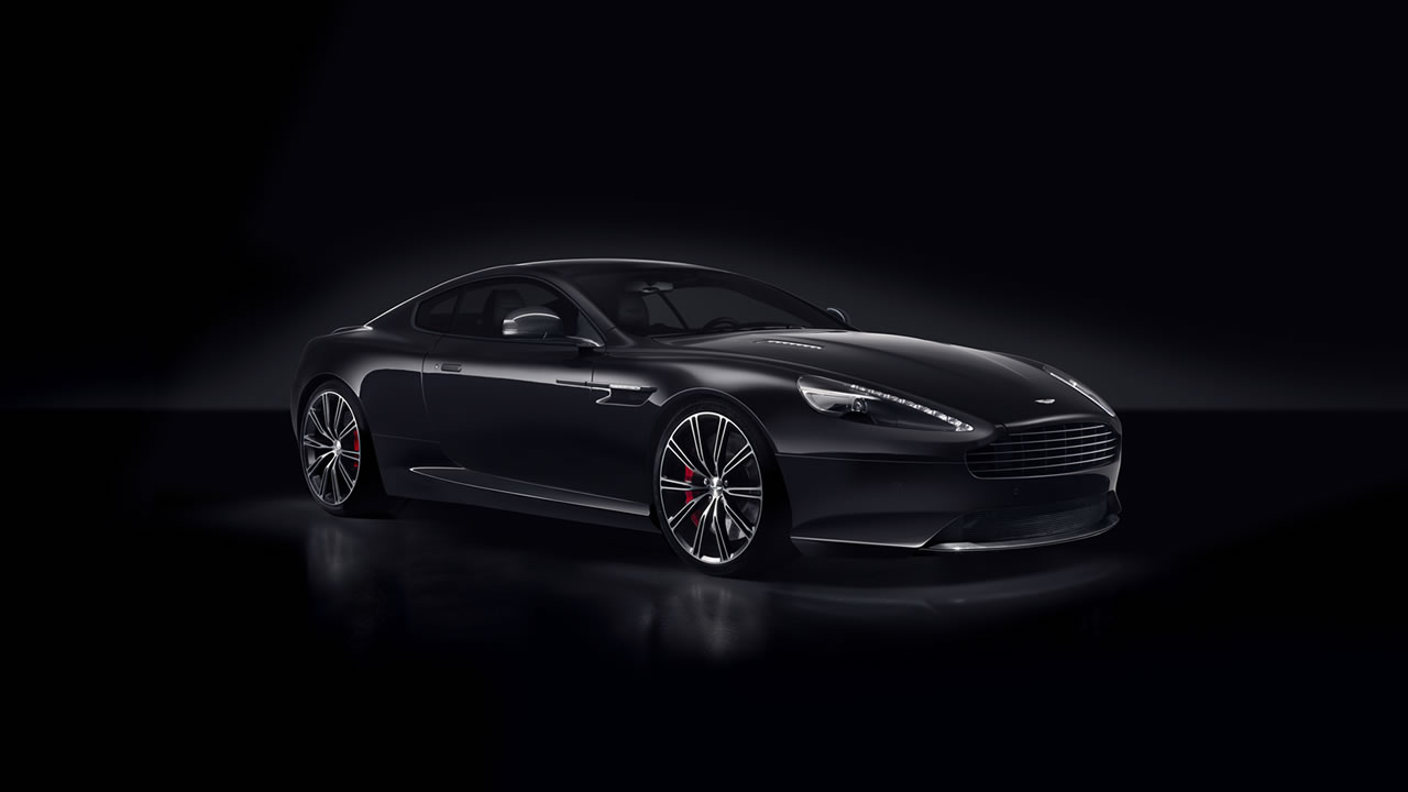 2015 Aston Martin DB9 Carbon Black Wallpaper - 1280 x 720