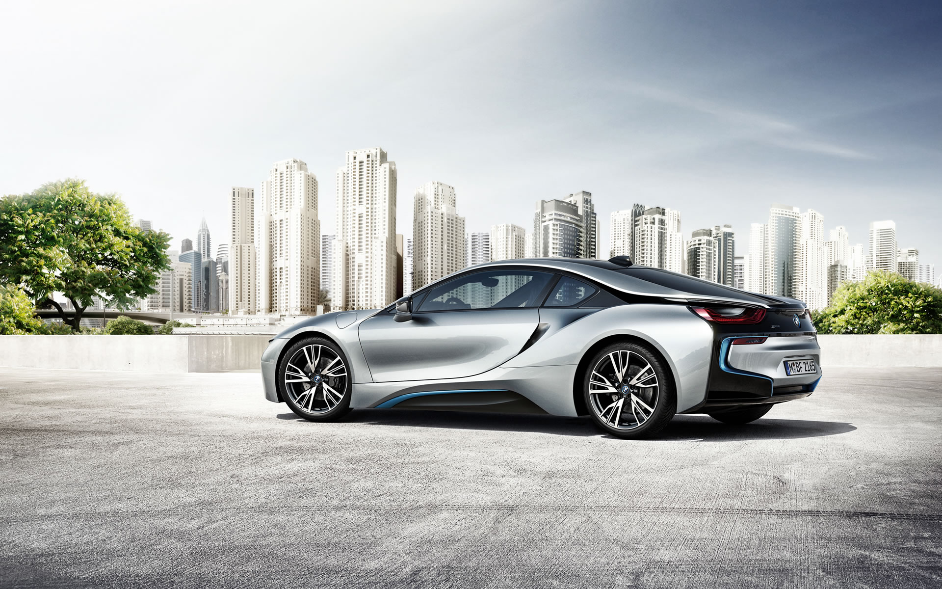 2015 BMW i8 Wallpaper - 1920 x 1200