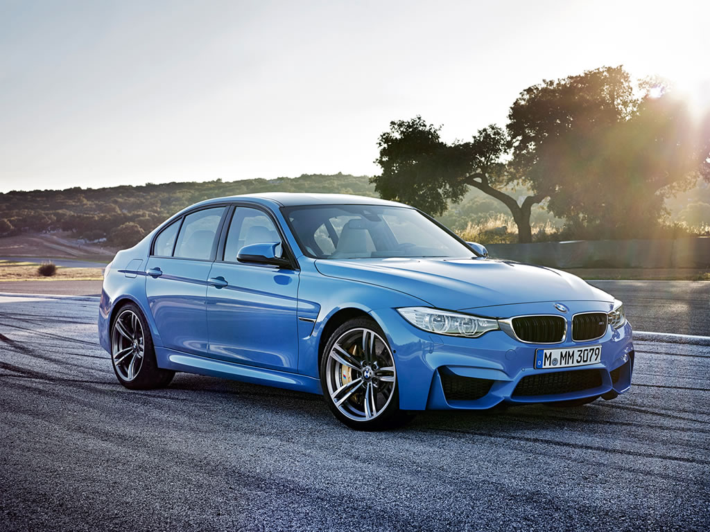 2015 BMW M3 Sedan Wallpaper - 1024 x 768