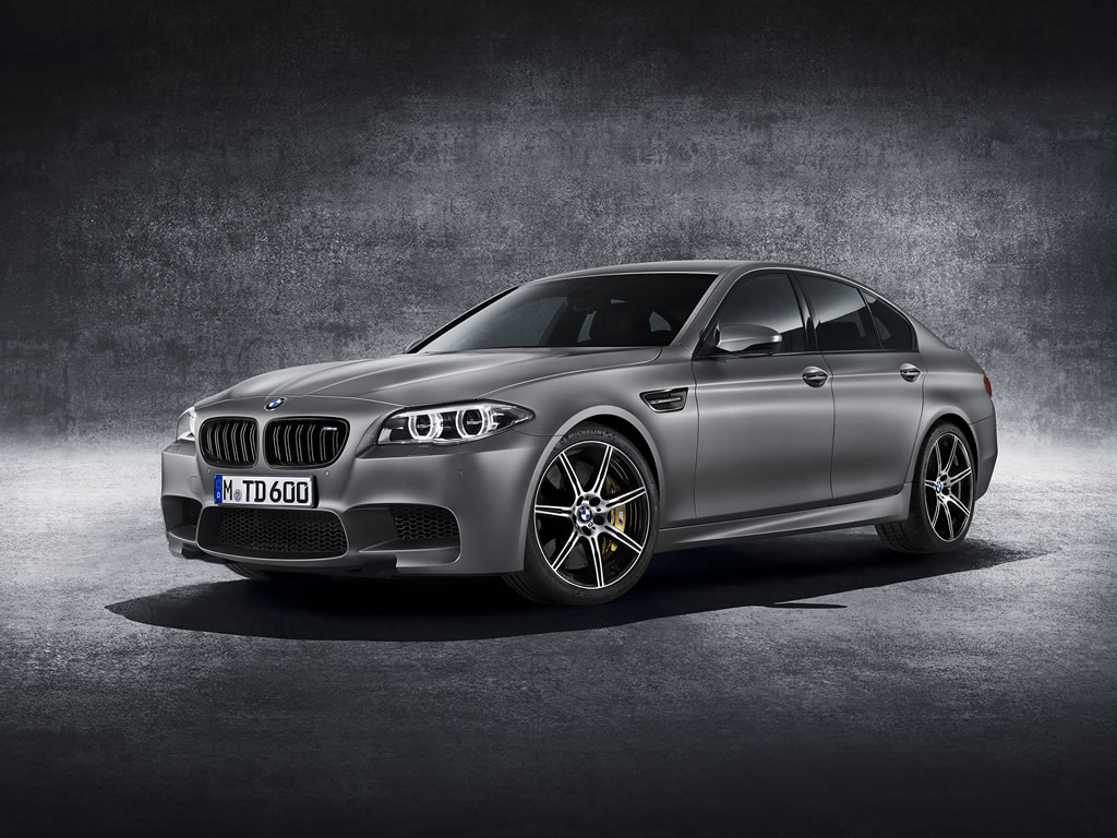 2015 BMW M5 30th Anniversary Edition Wallpaper - 1024 x 768