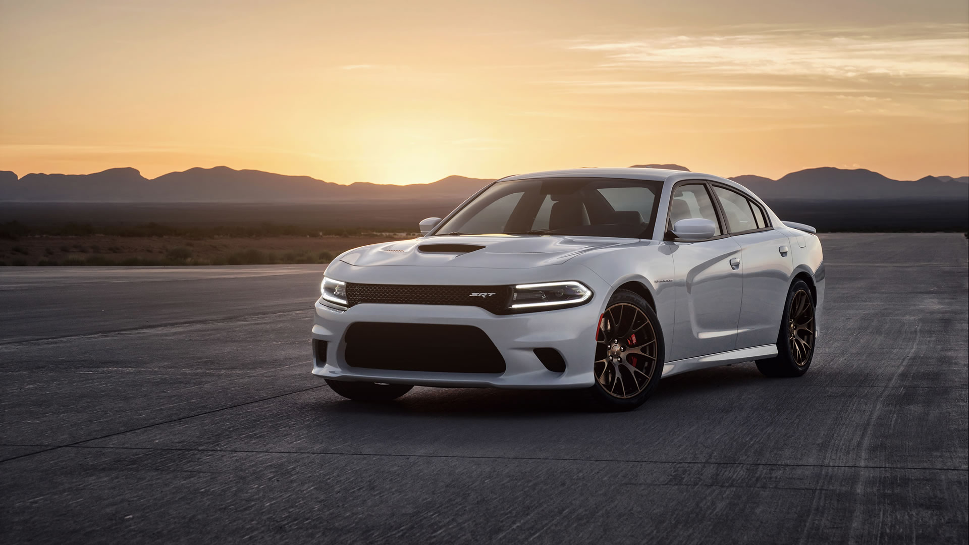 2015 Dodge Charger SRT Hellcat Wallpaper