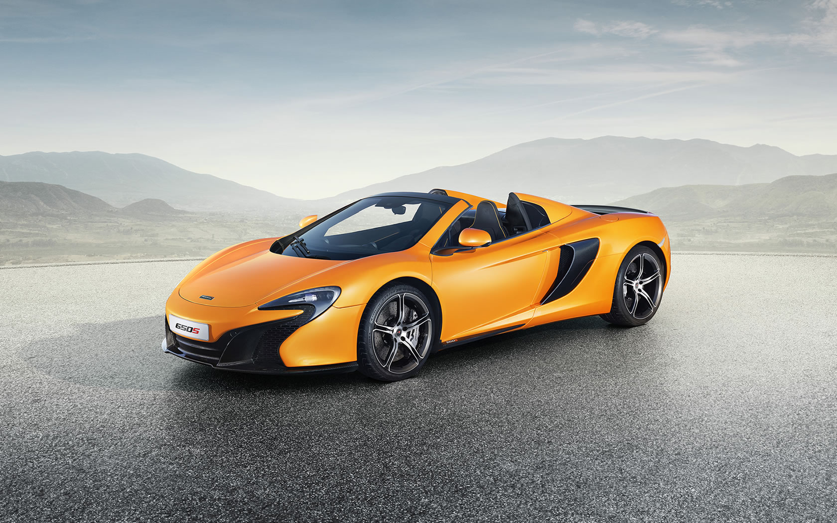 2015 McLaren 650S Spider Wallpaper - 1680 x 1050