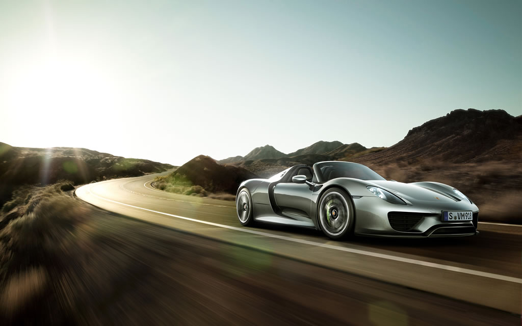 2015 porsche 918 spyder wallpaper 1024 x 640 front side silver color. Black Bedroom Furniture Sets. Home Design Ideas