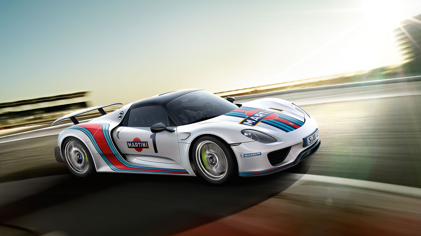 2015 porsche 918 spyder weissach martini racing wallpaper. Black Bedroom Furniture Sets. Home Design Ideas