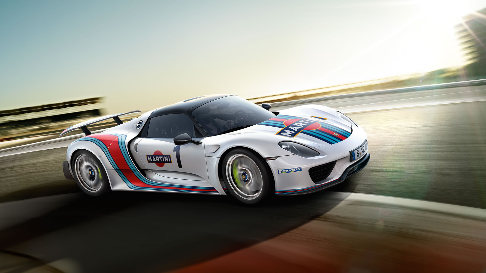 2015 porsche 918 spyder weissach martini racing wallpaper 1920 x 1080 front three quarters. Black Bedroom Furniture Sets. Home Design Ideas