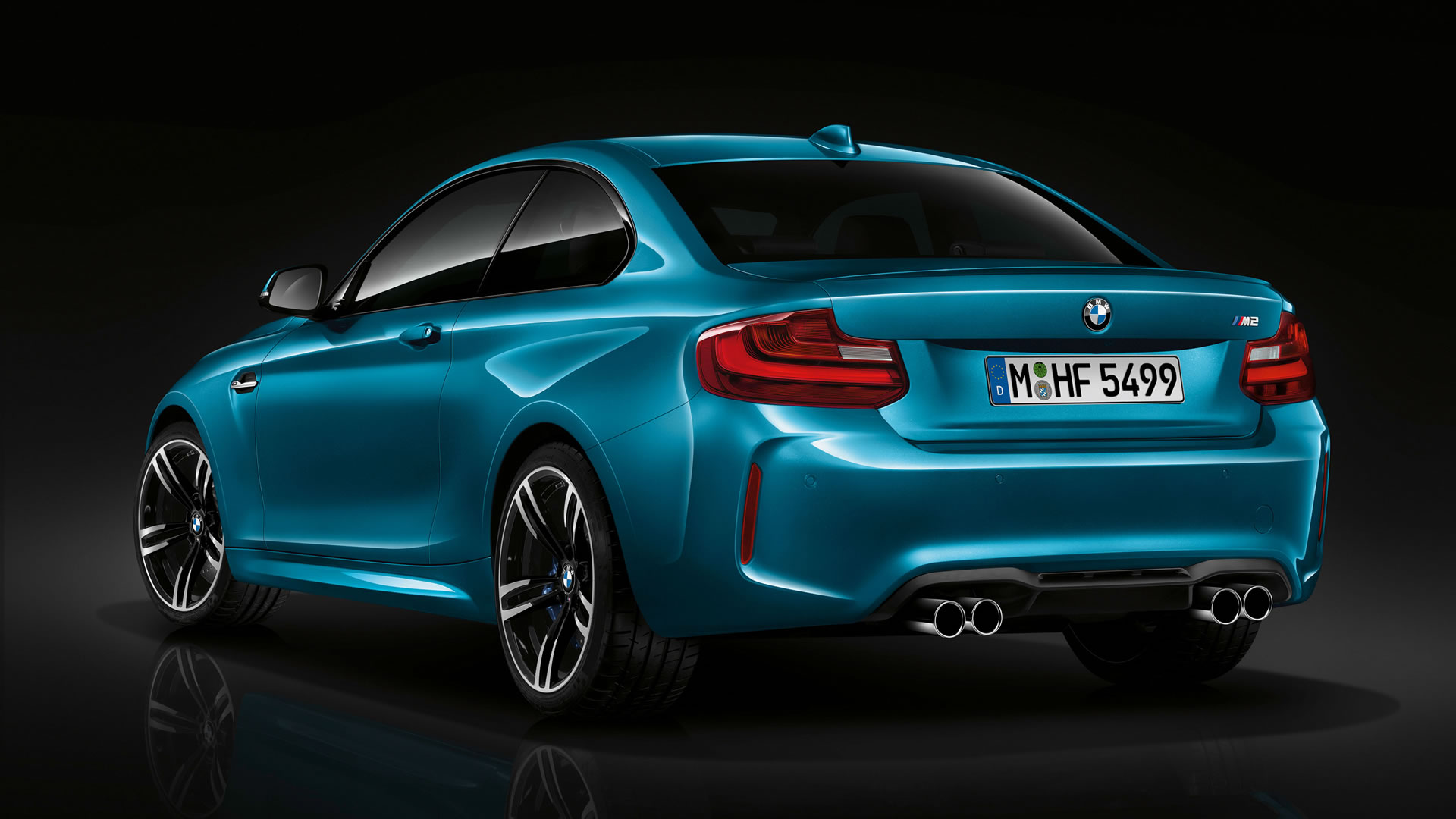 2016 BMW M2 Coupe Wallpaper - 1920 x 1080