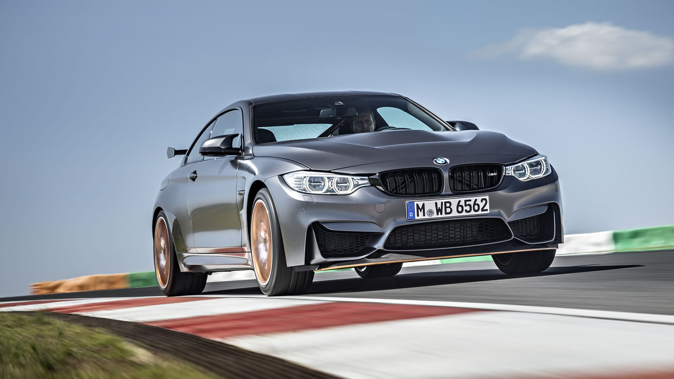 2016 BMW M4 GTS Wallpaper - 1366 x 768