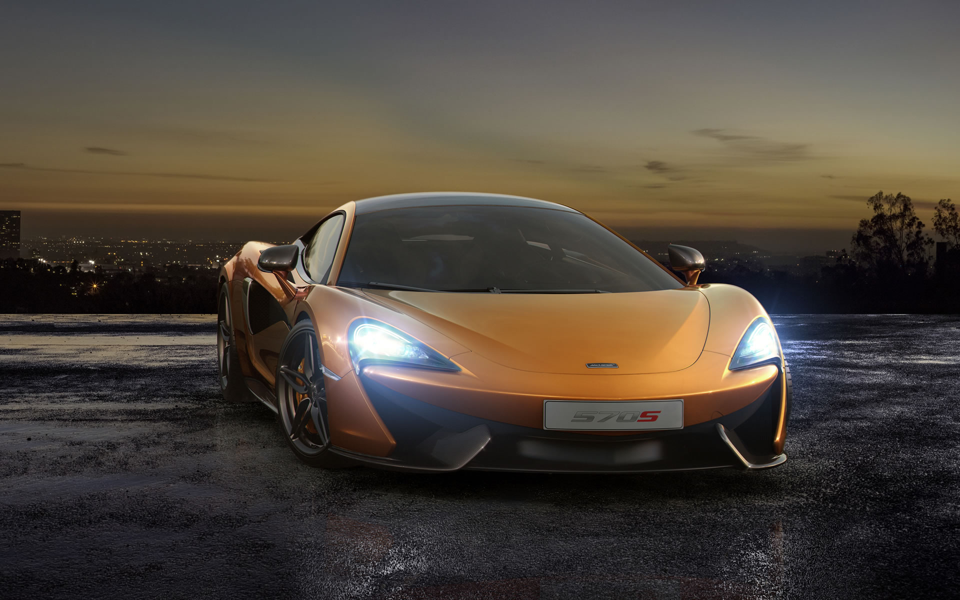 2016 McLaren 570S Coupe Wallpaper - 1920 x 1200